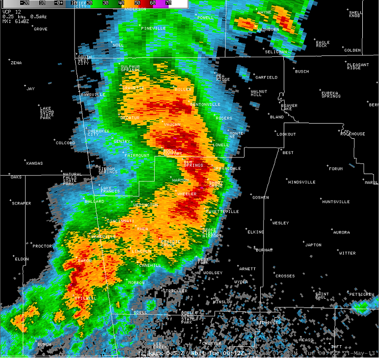 Bow Echo - Severe Thunderstorms